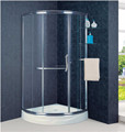 Aluminum Frame Sliding Corner Shower Door (KT6021AL)