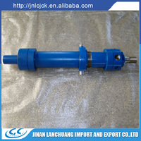 blue hight quality hydraulic cylinder used in harsh environment