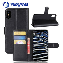 Yexiang New PU Stand Folio Flip Wallet Leather Case for iPhone 8 with Card Slot Alibaba Express