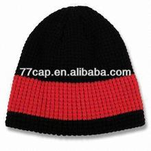 Competitive Price Custom Men's Free Knitting Pattern Hat Beanie