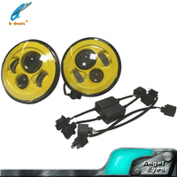 Auto LED Head Lamp jeep 7 inch round led headlight 12v 24v