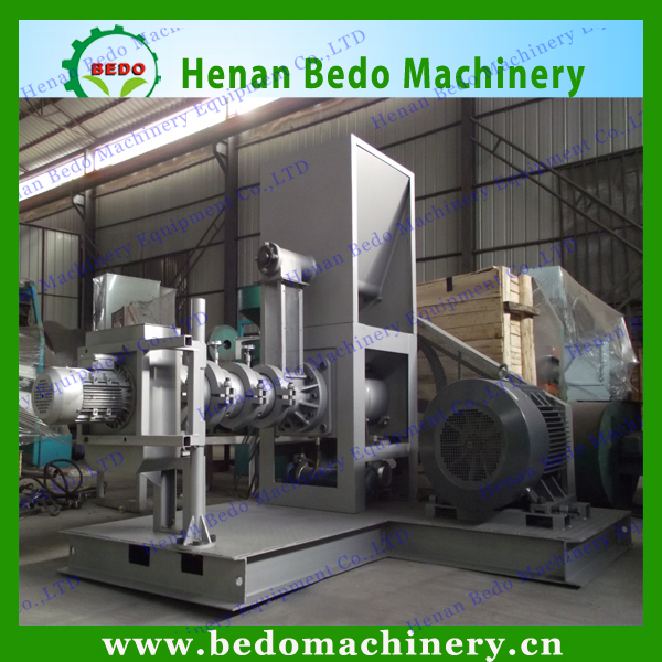 Hot selling commercial using animal feed industry soya bean extruding machine with CE 008618137673245