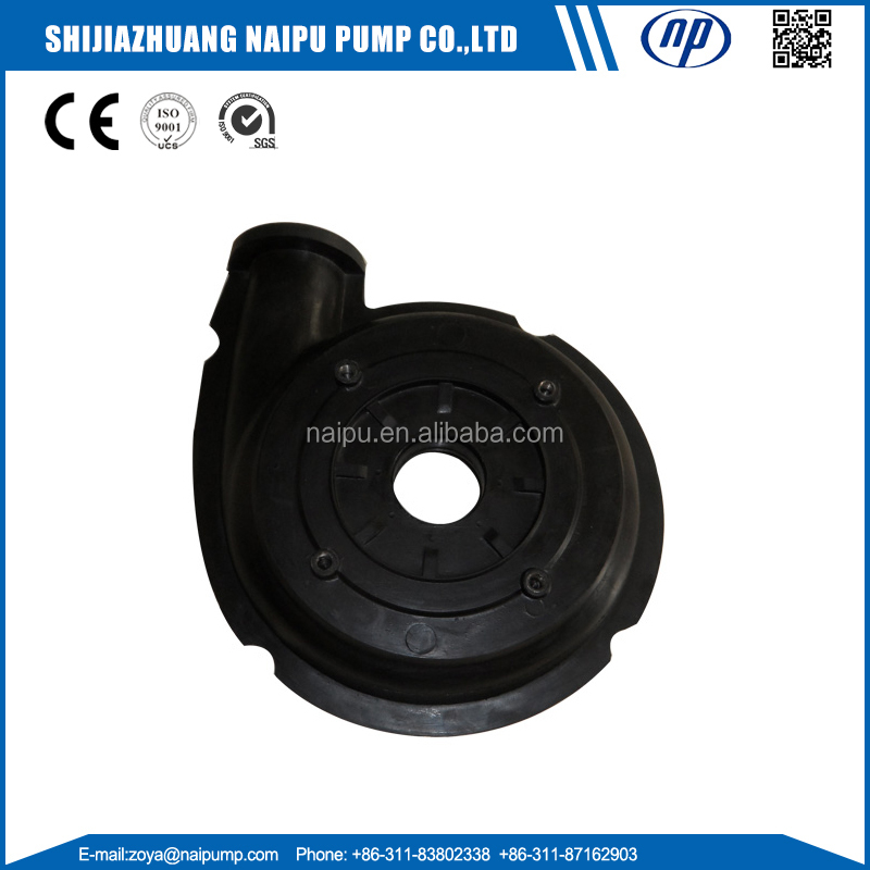OEM Pump Parts Impeller Shaft Sleeve Bearing Assembly Volute Liner Frame Plate Liner