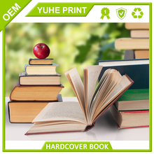 ECO-Friendly china factory in customized size art paper perfect binding hardcover book publishing