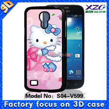 3d hello kitty phone case ,design mobile phone cover, kitty 3d phone case