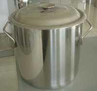 Commercial stainless steel soup pot