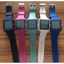 Free sample wholesale ce rohs stock cheap colorful smart watch gt08 aw08 u8 dz09
