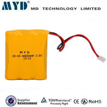 high quality ni-cd battery packs aa 600mah 3.6v for Vtech 80-5071-00-00 wholesale