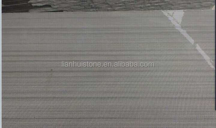 Wooden grey Sandstone for wall,good grey wood vein Sandstone, factory price Sand Stone