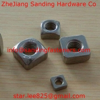 Stainless steel Square Nut/welded hex nut