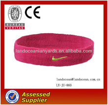 Promotional Terry Towelling Headband Hairband