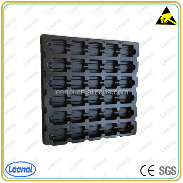 Super top quality plastic esd pcb packaging tray for electronics