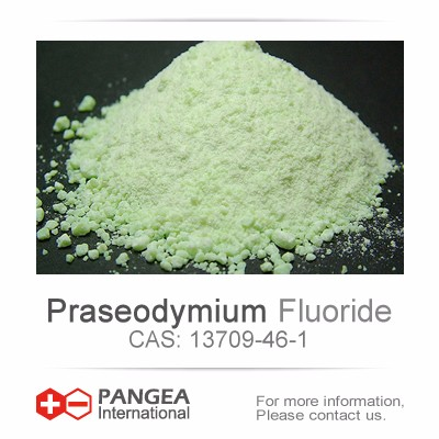 CAS No 13709-46-1 High purity Praseodymium Fluoride