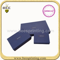 Magnetic Folding Up Rigid Box , Recycled Paper Custom Rigid Boxes