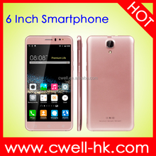6 Inch Smart Mobile Phone Android 5.1 Quad Core 1GB RAM 8GB ROM Dual Sim Card 5Mp Camera Star K700