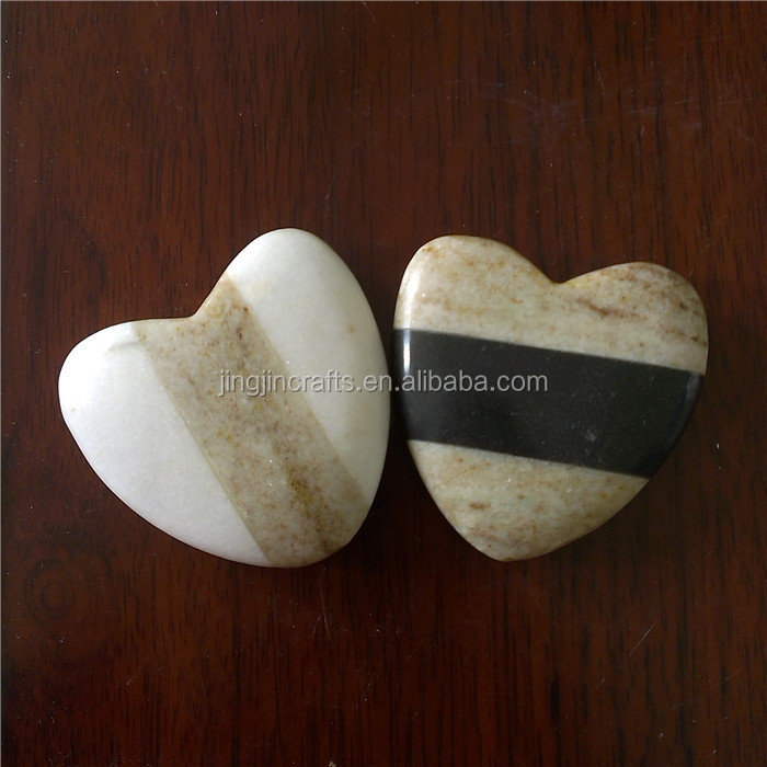 accept OEM customized empty black and white marble candle holder