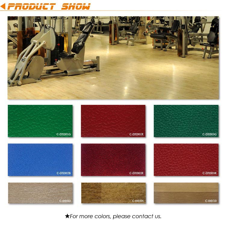 Anti-static PVC Sports Flooring Manufacturers