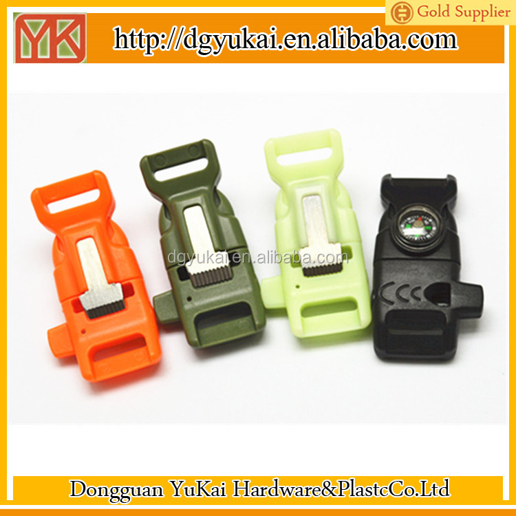 Hot selling quick release clips/quick release buckle for paracord/wholesale side release buckle