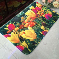Floral Print Rugs with Detox and Sedex Audit