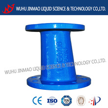 Casting double flanged eccentric reducer