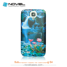 Customized Phone Case for Samsung Galaxy S4,Sublimation 3D Blank case