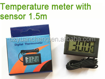 Digital Thermometer LCD Fridge Freezer Car Temperature Meter Tester reader
