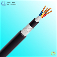 4x35mm2 600/1000V IEC 60502-1 CU / XLPE / SWA / PVC Electrical Power Cable