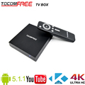Best selling Android Tocomfree TV box support Kodi H.265 Youtube work for worldwide
