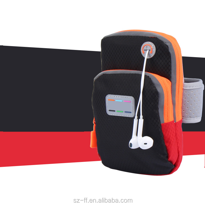 Running Gym Sport Cell Phone Belt Arm Band Pounch Pouch Workout Mobile Case Cover Bag Holder For iphone 4s 5