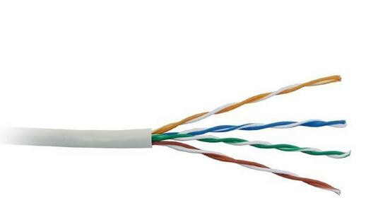 High Speed UL Certified 8 number core 4pr UTP 23AWG Cat5e Copper 0.51mm PVC Ethernet Cable Network Cable