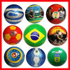 2018 World Cup size 5 machine sewn PVC football