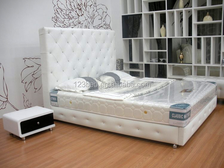 a033 beautiful bedroom furniture high back designer bed buy high