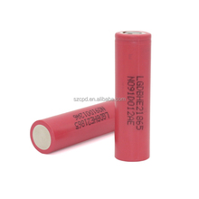 Authentic for LG HE2 2500mAh 3.7V 35A Discharge Li-ion Rechargeable Battery for V2 Kit