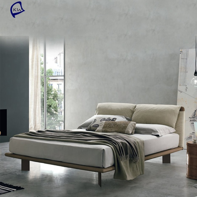 Foshan <strong>bed</strong> manufactureritalian designer leather king size <strong>bed</strong> set