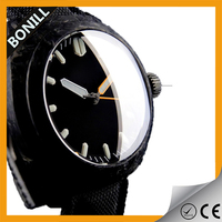 High quality waterproof mens watches custom your owm logo dive watch case oem