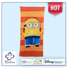 Cheap Promotional Microfiber Printed Beach Towel