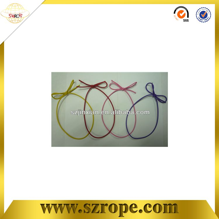 Gift wrapping elastic band bow for box