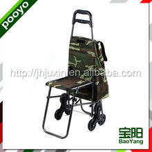 folding shopping trolley cart rolling plastic shopping trolies