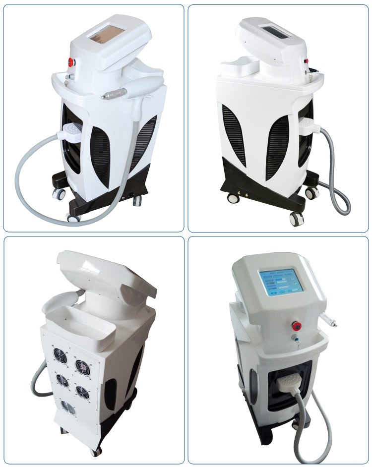 1064nm 532nm vertical 1064 long pulse nd yag laser hair removal machine / equipment
