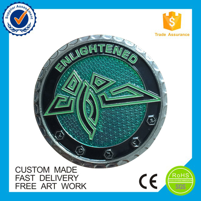 Free artwork promotional directly factory custom souvenir engraved coin