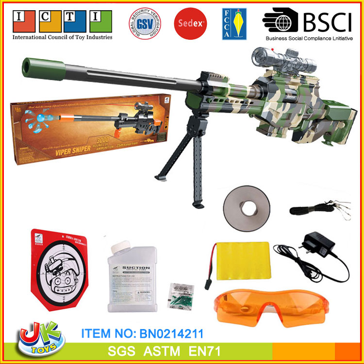 [JK TOYS] Electric Air Soft Military Gun Continuously Shooting