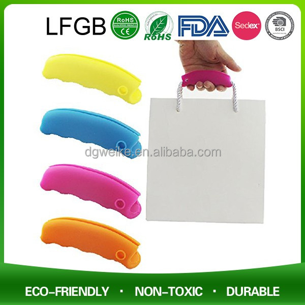 Promotion Silicone Shopping Bag Holder Suitcase Handle