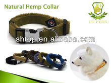 fashion hot sell and good quality hemp cat collars