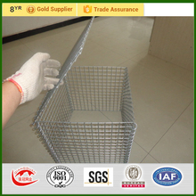 electro galvanized welded gabion baskets