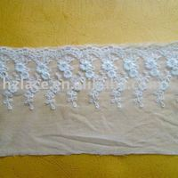 Hotel table cloth lace