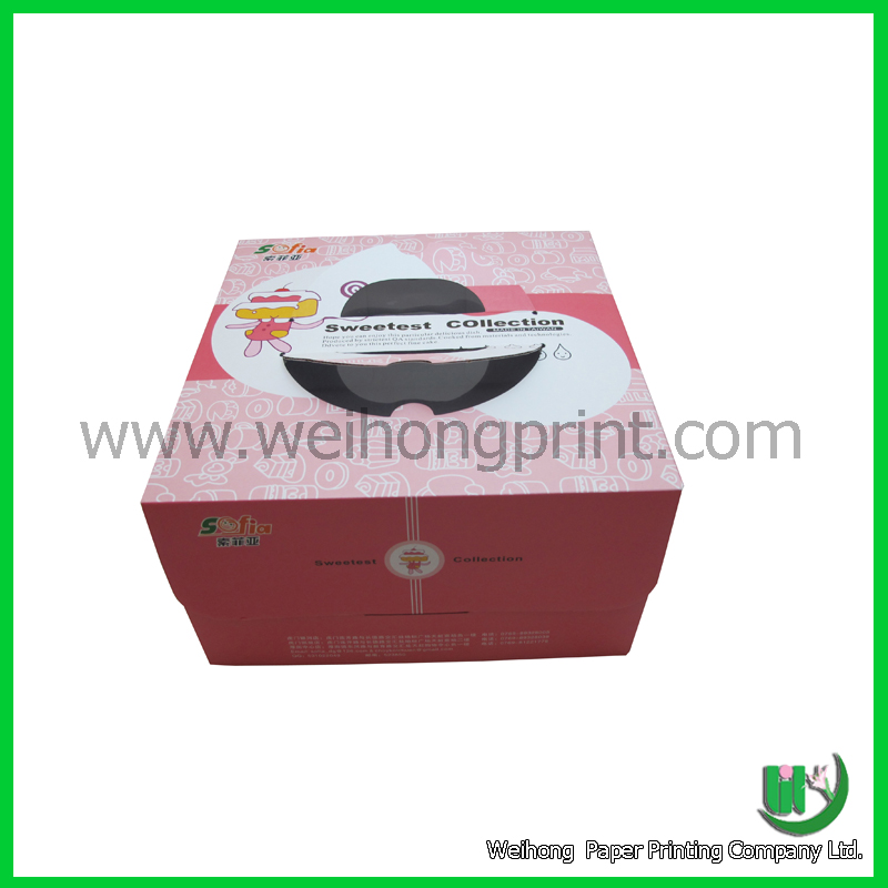 china supplier the pink cake box birthday cakes