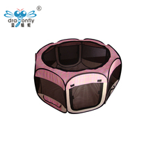 EUROPE QUALITY Pet Play Pen Dog Playpen Eight Mesh Panels