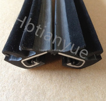 flocked rubber seal for auto windows