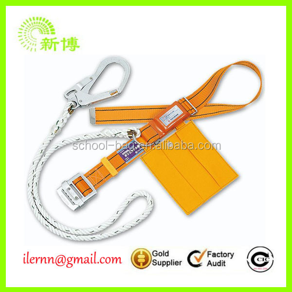 industrial safety belt with hooks