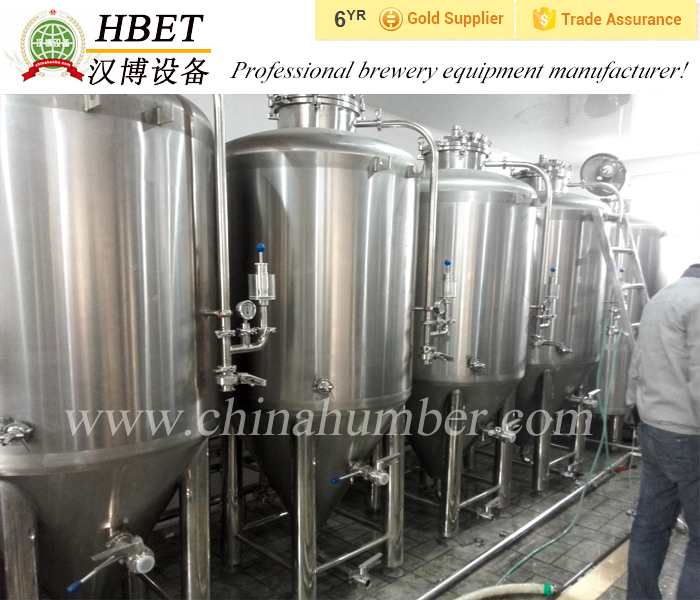 500l hotel german beer making machine with draft fermenting tanks